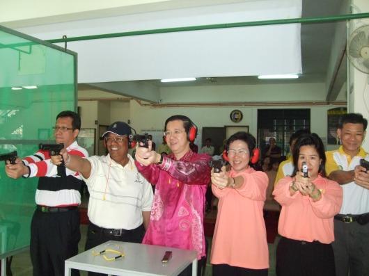 Program Rekreasi Pertandingan bersama TYT dan Toh Puan